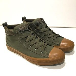 Converse CTAS Street Mid Shoes Unisex camouflage